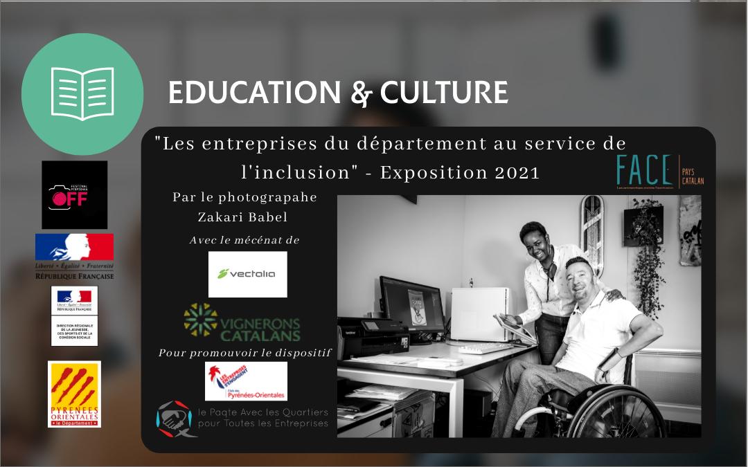 Exposition OFF VISA pour l'image 2021- «Les entreprises du département au service de l'inclusion»